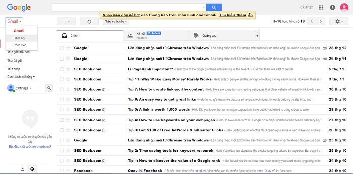 cách gửi email hàng loạt