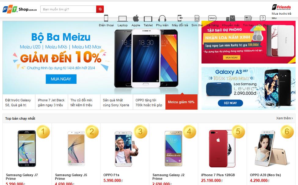 Cập nhật những trang web bán hàng online lớn nhất Việt Nam năm 2020