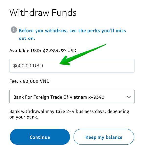 Hướng dẫn cách rút tiền từ Paypal về tài khoản Việt Nam mới nhất 2020
