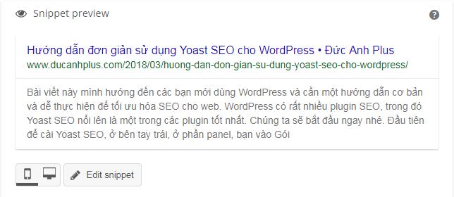 Hướng dẫn sử dụng yoast wordpress seo cho người mới bắt đầu