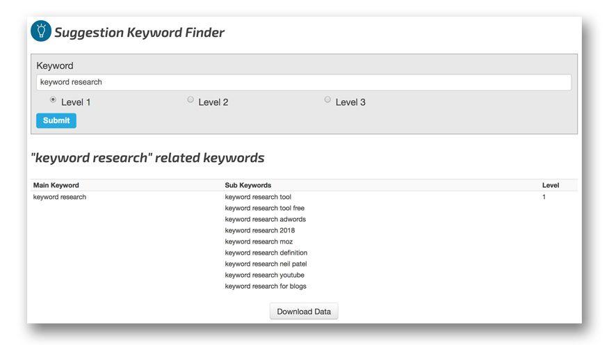 Tổng hợp những công cụ đo lường từ khóa miễn phí ngoài Google