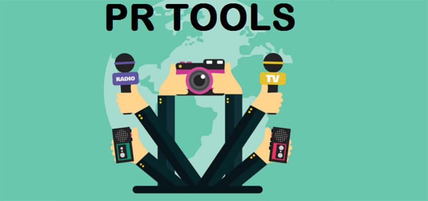 Các công cụ PR chính trong ngành quan hệ công chúng