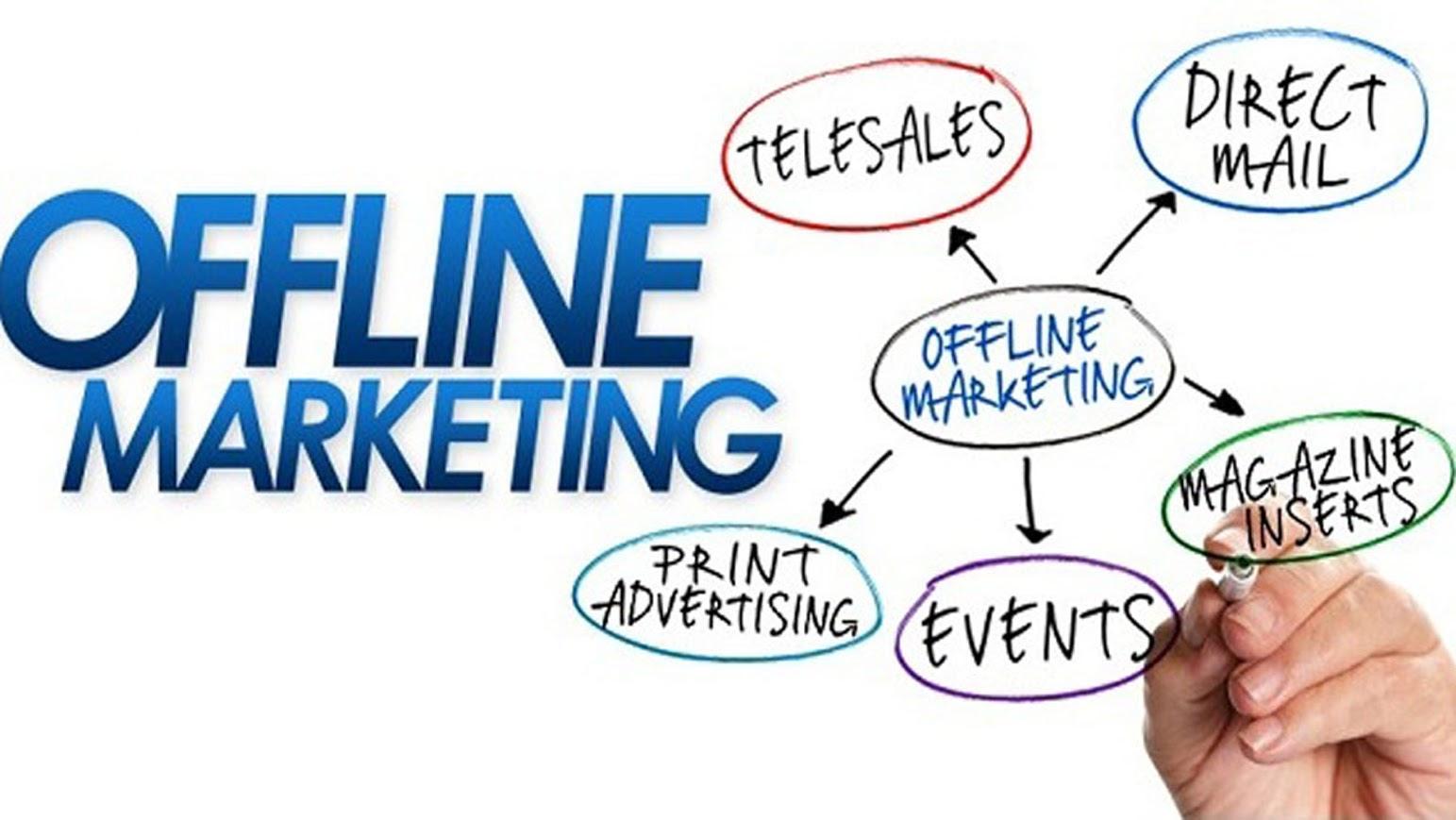 Một sốkênh Marketing Offlinephổ biến hiện nay