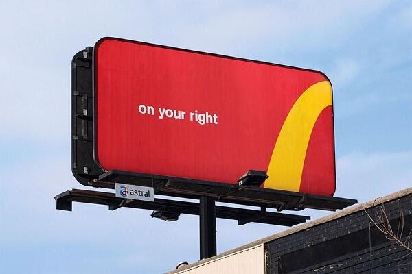 Phương thức quảng cáo bằng biển quảng cáo ngoài trời