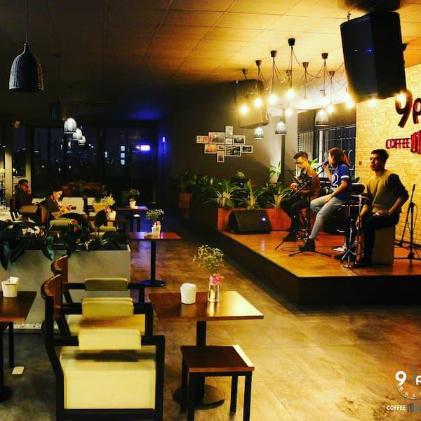 Hình ảnh quán cafe nhạc